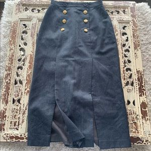 Ports Wool Skirt